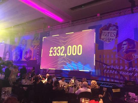 money raised at The Ronald McDonald House Charities Manchester Gala