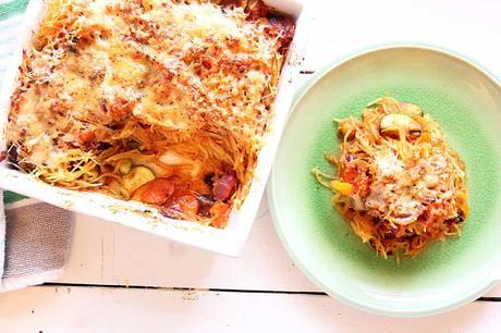 Gluten-Free Spaghetti Squash Casserole