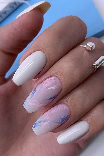 bridal nails trends pastel blue pink abstract design id_nails_space