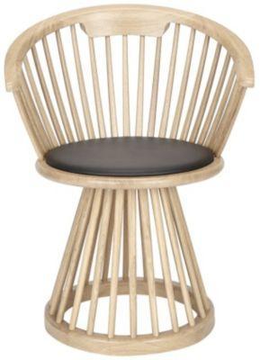 Tom Dixon Fan Dining Chair - FAD01BL - Style: Rustic Modern