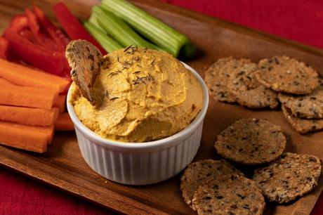 Holiday Vegan Cheese Spread