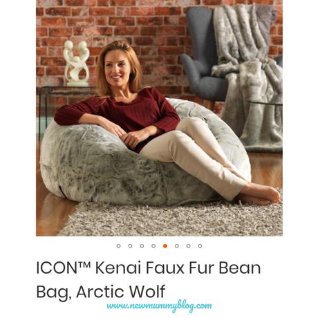 Bean Bag Bazaar ICON™ Kenai Faux Fur adult Bean Bag Review … and #giveaway