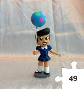 Jigsaw puzzle - Little Dot Teeny Weeny Mini-maquette, 2003 convention exclusive blue dress variant