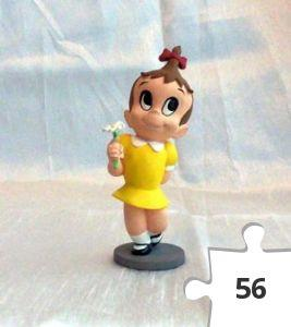 Jigsaw puzzle - Little Audrey Teeny Weeny Mini-maquette, Nuff Said Collectibles yellow dress variant
