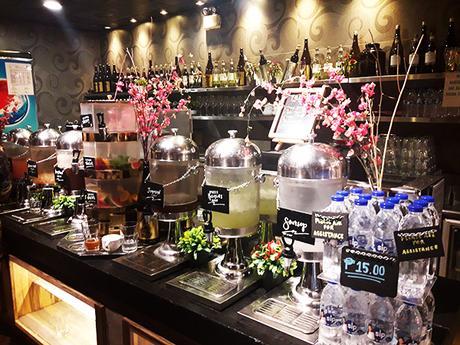 beverage area