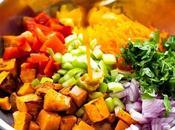 Southwestern Wild Rice Sweet Potato Salad