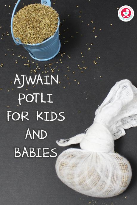 Ajwain Potli for Babies is a natural inhaler made with the traditional ingredient Ajwain. It is known to treat nasal congestion in babies and kids.