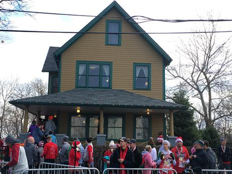 In pictures: A Christmas Story 5K/10K Run