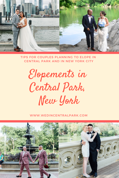 Tips for Couples Eloping to Get Married in Central Park, New York