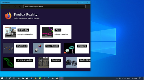 Download Firefox Reality browser for Windows 10 from Microsoft Store