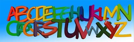 Image: Alphabet Letters, by Gerd Altmann on Pixabay