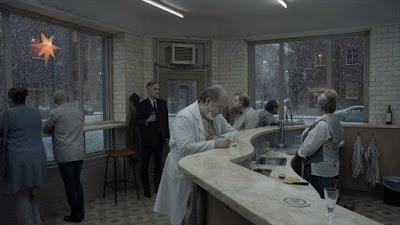 "245. Swedish director Roy Andersson's sixth feature film ""Om det oändliga""(About Endlessness) (2019):  Providing vignettes of modern life invoking memories, theatre, cinema, painting, religion and music to force us to look inwards and outwards, to the ..."