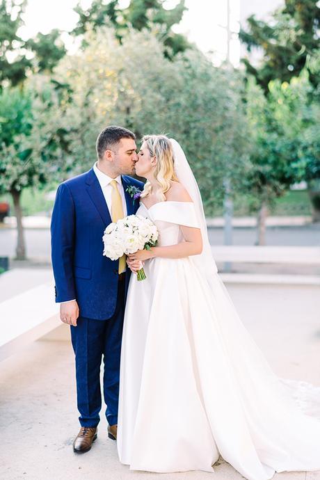 Gorgeous elegant wedding with romantic details | Nefeli & Konstantinos