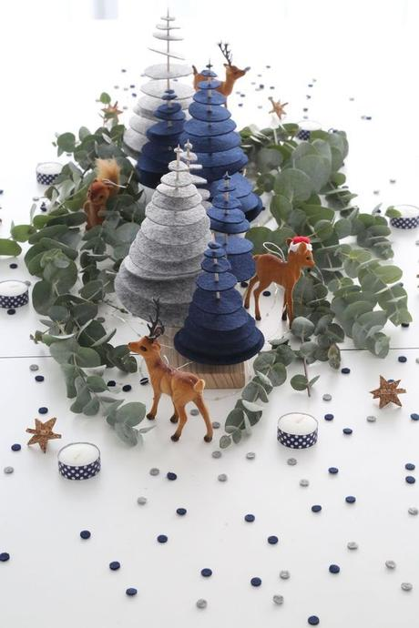 DIY Noël : une forêt enchantée pour un centre de table magique !