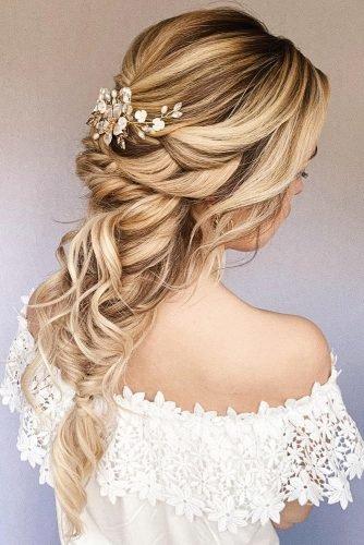 wedding hair trends long blonde mermaid braid on bridal_hairstylist