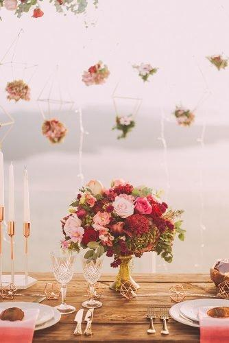 average cost of wedding venues roses centerpiece