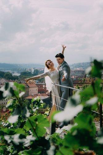 wedding venue ideas bride and groom at the terrace
