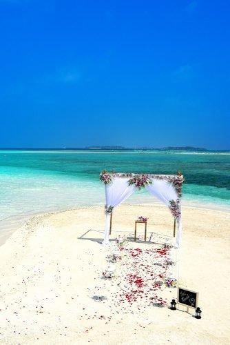 wedding venue ideas wedding ceremony on a beach