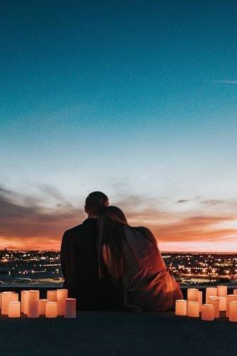 wedding venue ideas rooftop couple