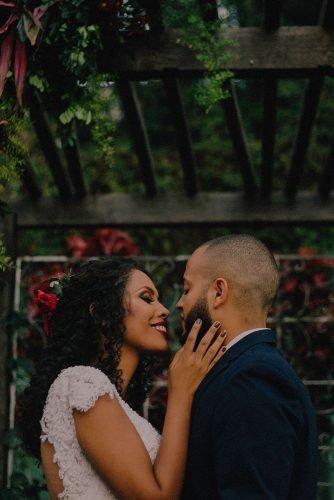 wedding venue ideas botanical garden wedding newlyweds
