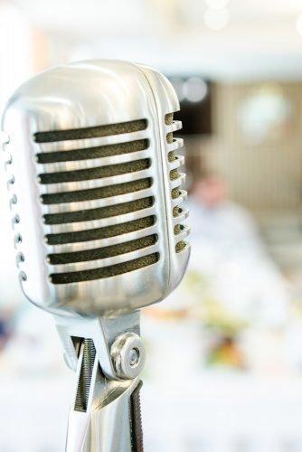 average price of a wedding band microphone wedding music