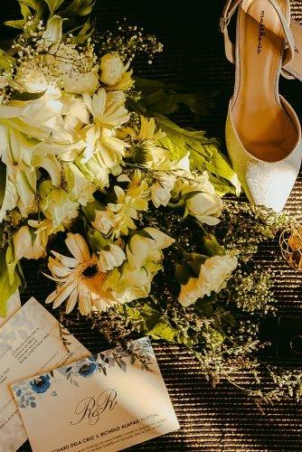 average price of wedding invitations invitation with shoes and bouquet