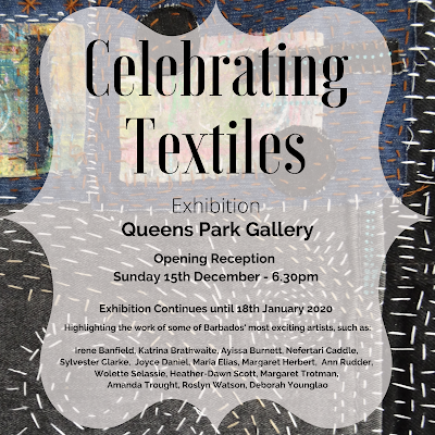 Celebrating Textiles Exhibition, Queens Park Gallery, Barbados