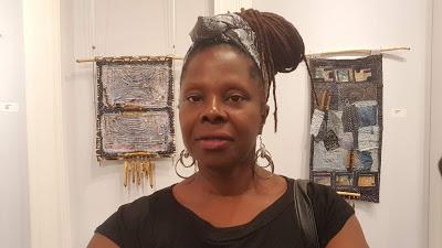 Amanda Trought - Celebrating Textiles Exhibition, Queens Park Gallery, Barbados