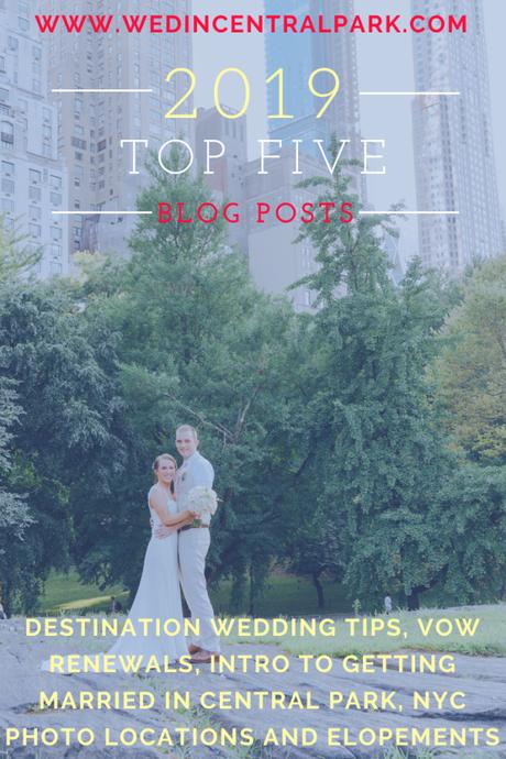My Top Five Blog Posts of 2019