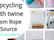 Upcycling with Twine from Rope Source (#gifted)