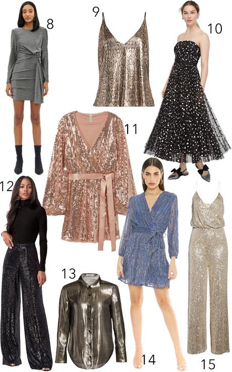 Get the Look: 36 Sparkly Party Dresses for New Year's Eve