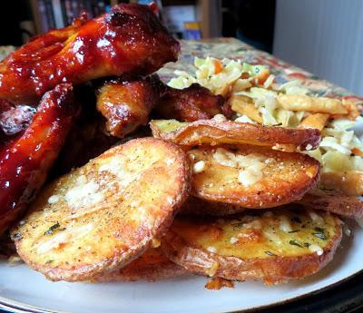 Garlic & Parmesan Crispy Potatoes