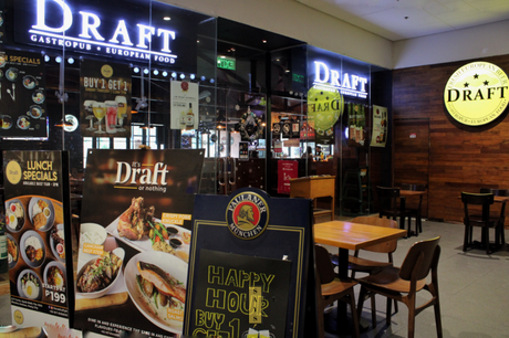 Draft Restaurant & Brewery, Ayala Malls The 30th