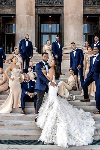 classic blue wedding suits look for groomsmens superdj56