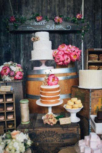 wedding dessert table ideas vintage modern rustic cake bar redmoose