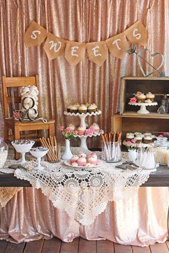 wedding dessert table ideas vintage modern vintage sweet bar glorioustreats