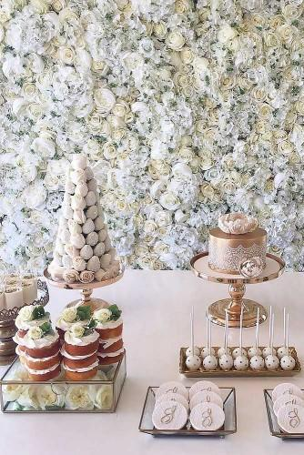 wedding dessert table ideas 31