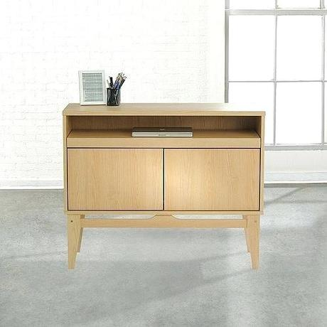 home office sideboard furniture bank contemporary bureau desk ash reversible peacock blue
