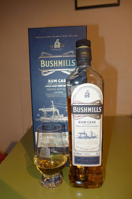 Tasting Notes: Bushmills: Steamship Collection Rum Cask