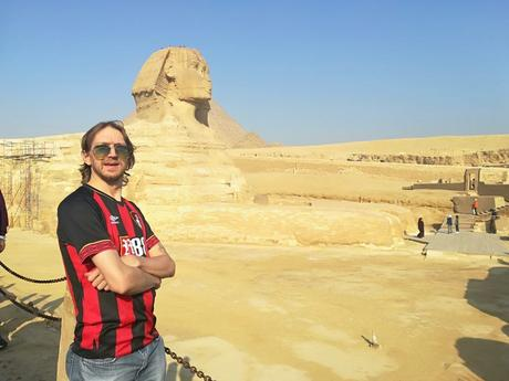 Visiting The Sphinx in Egypt