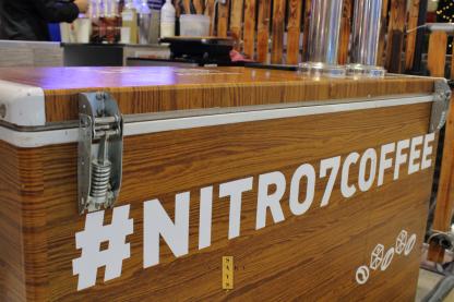 Trying Nitro 7 Coffee & Tea Bar's Milk Teas