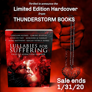 Announcing the Limited Edition Hardcover  of Lullabies for Suffering