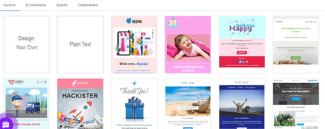 EngageBay Pre-Designed E-mail Templates