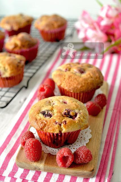 best raspberry muffins
