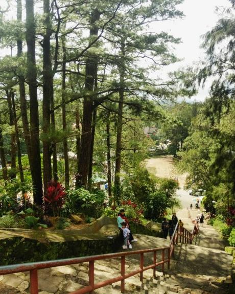 I was in Baguio for the first time with my high school...