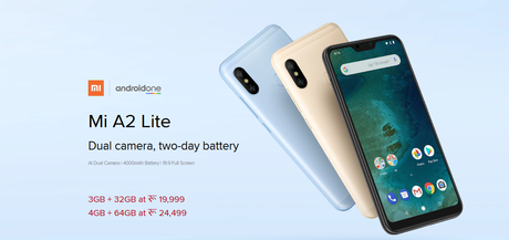 Mi Phone Price in Nepal - Mi A2 Lite Price in Nepal and its features