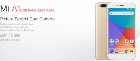 Mi Phone Price in Nepal - Mi A1 Price in Nepal
