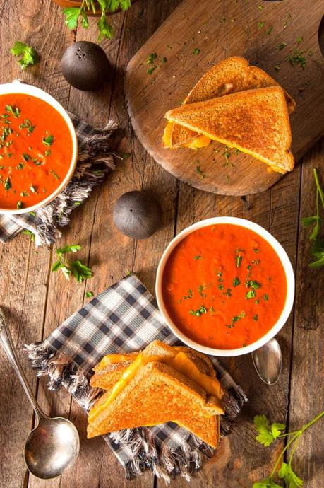 Instant Pot Tomato Soup with Cumin
