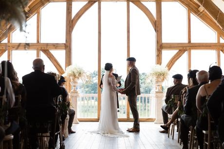Wedding at Sandburn Hall.