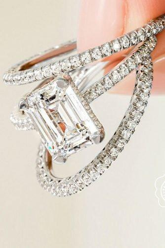 tacori engagement rings white gold engagement rings emerald cut engagement rings simple engagement rings tacoriofficial